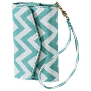 Chevron printed cell phone/wallet/wristlet from Target $9.99