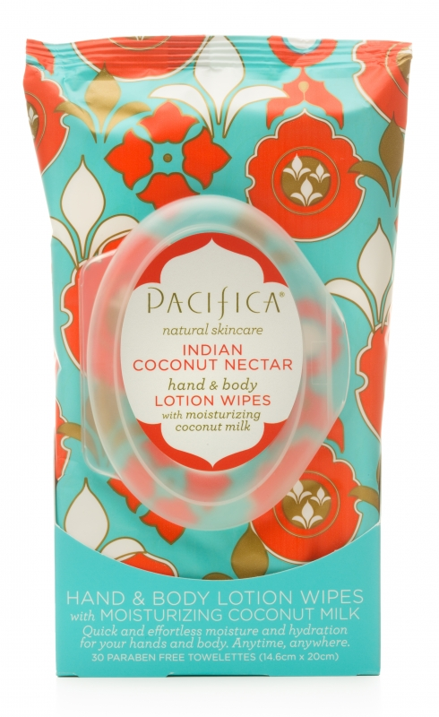 Review: Pacifica Lotion Wipes